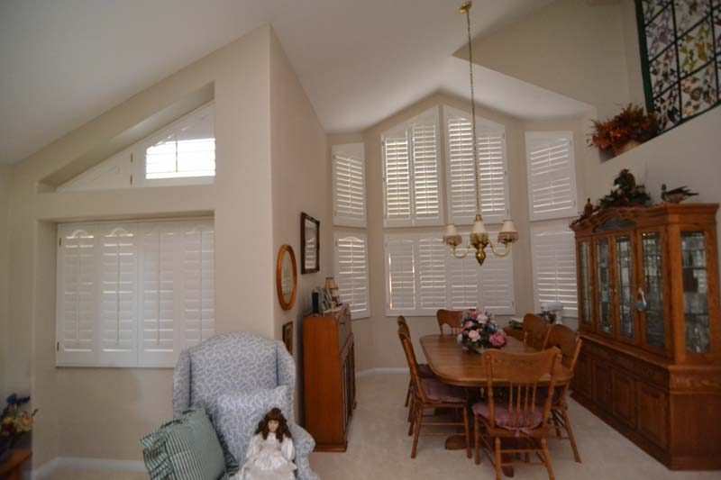 Arch Top Shutters