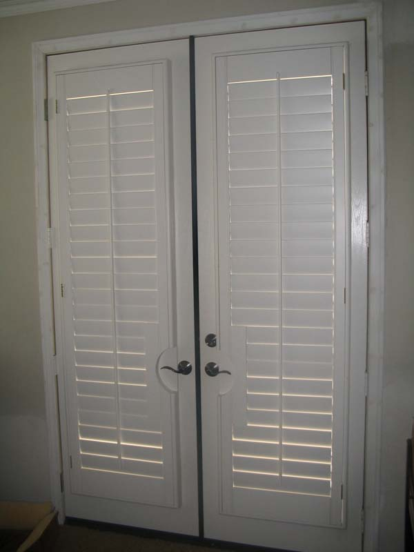 French Doors 171 Stewart Shutters Custom Shutter